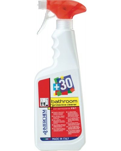 Detergente Sanificante Bagno +30 Bathroom Protective 750 ml Interchem