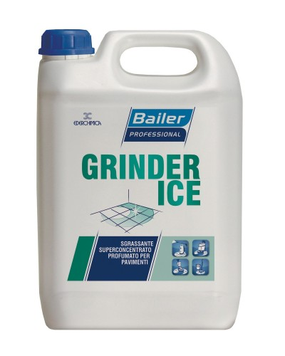 Detergente Sgrassatore Concentrato Profumato Grinder Ice 6 kg Bailer