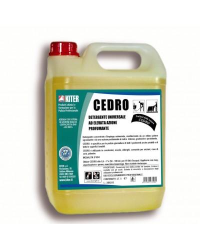 Detergente Universale per Pavimenti Cedro da 5 lt Kiter
