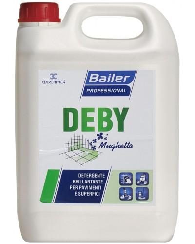 Detergente per Pavimenti Lucidi Deby Mughetto da 5 kg Klinfor