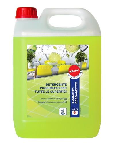 Detergente per Pavimenti Bergamotto da 5 lt Klinfor