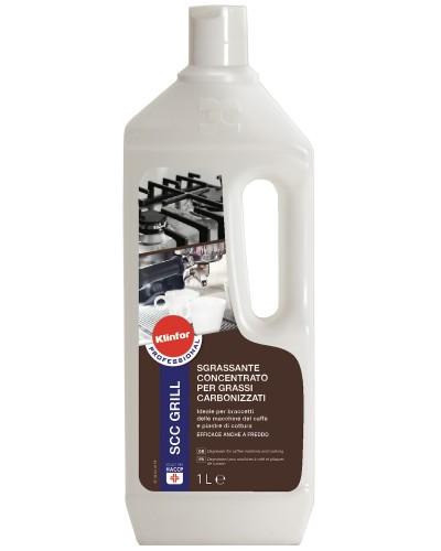 Detergente Sgrassatore SCC Grill da 1 lt per Cotti Carbonizzati Klinfor