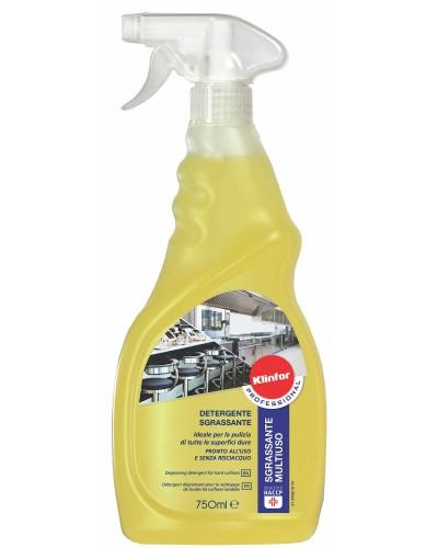 Detergente Sgrassatore Multiuso 750 ml per tutte le Superfici Klinfor