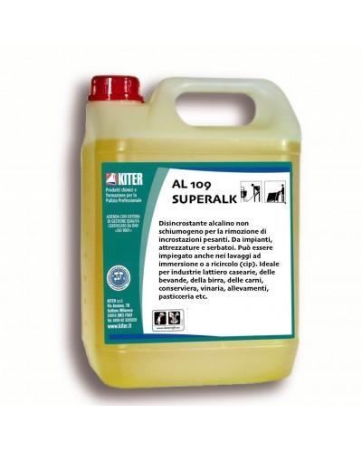 Detergente Disincrostante Alcalino AL 109 Superalk 27 kg Kiter