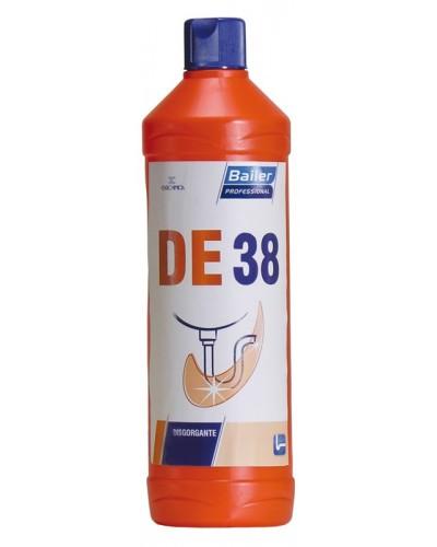 Detergente Disgorgante Bagno DE38 750 ml per Tubi di Scarico Bailer