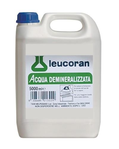 Acqua Demineralizzata da 5 lt Distillata per Ferro da Stiro e Batterie