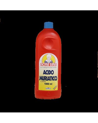 Acido Muriatico da 1 Lt Disincrostante per Sanitari e Tubature