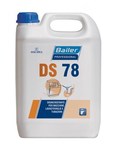 Detergente Disincrostante Lavastoviglie DS78 5 kg per Tubature Bailer