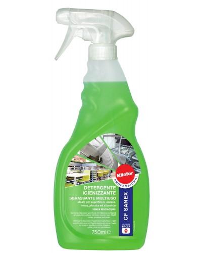 Detergente Igienizzante e Sanificante CF Sanex 750 ml HACCP Klinfor
