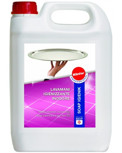 Sapone Lavamani Professionale Soap Igienik 5 kg Klinfor