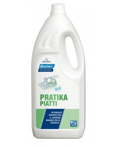 Detergente Piatti a Mano Pratika 2 lt Bailer