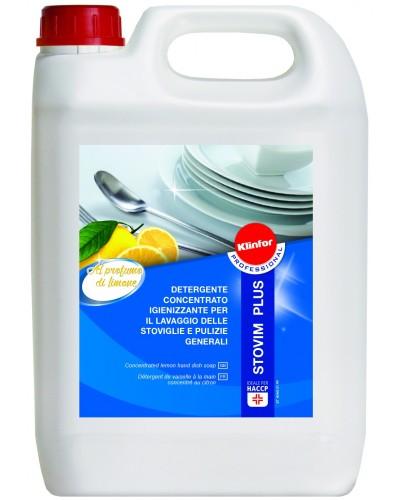 Detergente Piatti a Mano Professionale Stovim Plus 5 kg Klinfor
