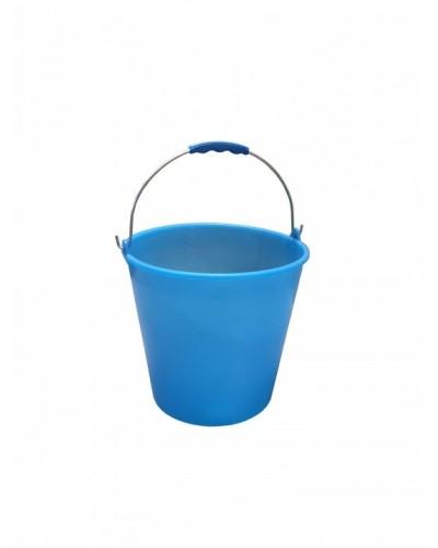 Secchio Plastica Celeste 15 lt Per Pavimenti e Alimenti Mobilplastic