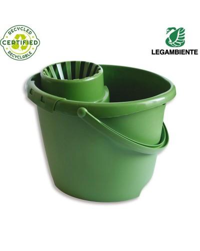 Secchio Strizzatore Bucket Eco 13 lt in Plastica Riciclata Arix