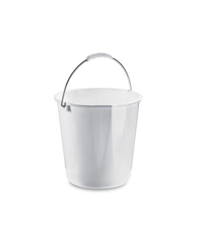 Secchio Plastica Bianco Expo da 15 lt Per Pavimenti Giganplast