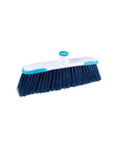 Scopa Per Interni Hygiene Plus Blu a Setole Morbide Haccp Arix