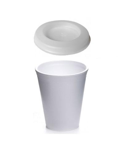 Bicchiere Termico per Cappuccino 225ccc 25pz in Polistirolo Erremme