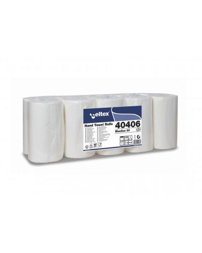 Asciugamani A Rotolo Manilux 50 in Carta 10 pz Celtex