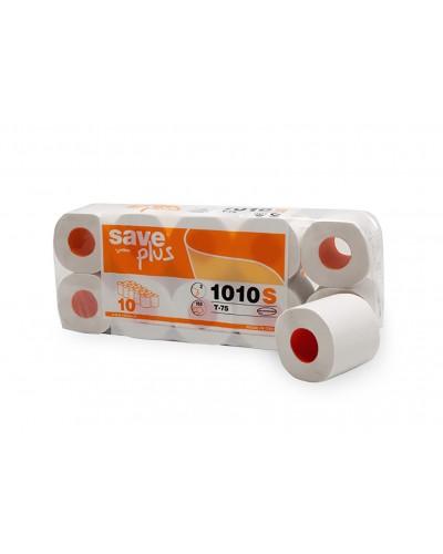 Carta Igienica Save 10 Rotoli Ecolabel da 160 Strappi Celtex