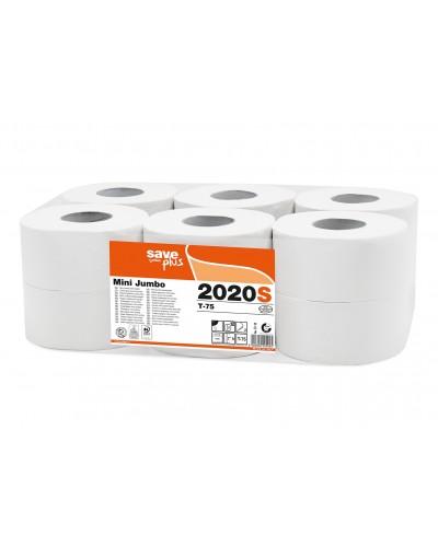 Carta Igienica Save Mini Jumbo 12 Rotoli da 1000 Strappi Celtex