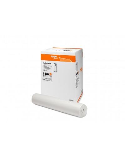 Rotoli Lenzuolini Medici Save 2 Veli 6 pz Carta Pura Cellulosa Celtex