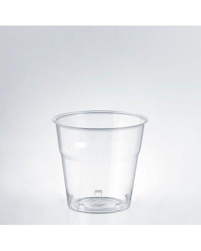 Bicchiere Bevande Kristal Trasparente 160 cc al Bordo 50 pz Isap