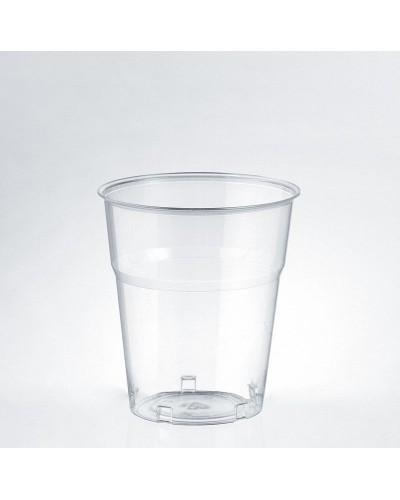 Bicchiere Bevande Kristal Trasparente 205 cc al Bordo 50 pz Isap