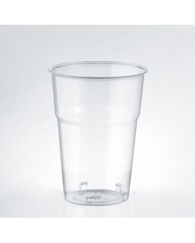 Bicchiere Bevande Kristal Trasparente 250 cc al Bordo 50 pz Isap