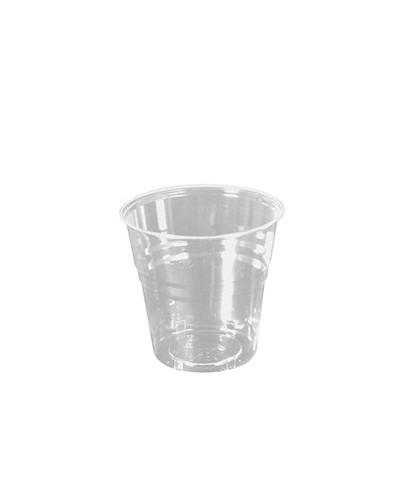 Bicchiere Bevande Kristal Trasparente 250 cc Large al Bordo 50 pz Ilip