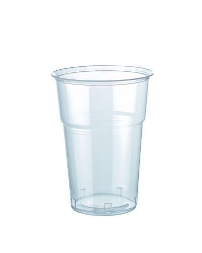 Bicchiere Bevande Kristal Trasparente 250 cc al Bordo 50 pz Bibo