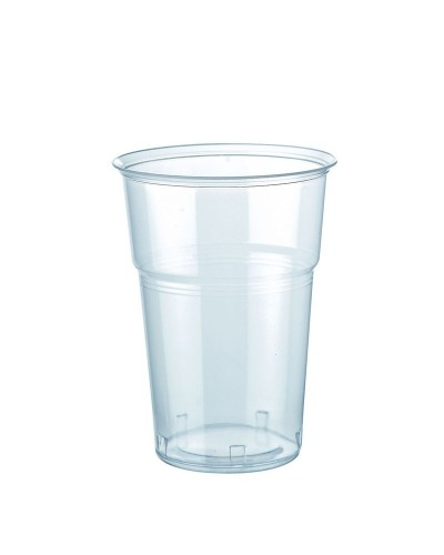 Bicchiere Bevande Kristal Trasparente 300 cc al Bordo 50 pz Bibo