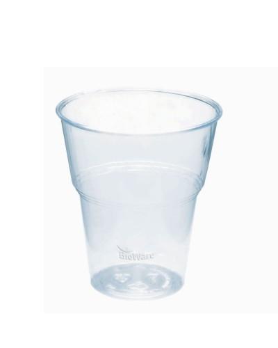 Bicchiere Pla Compostabile Per Bevande Fredde 250/335 ml 70 pz Bibo