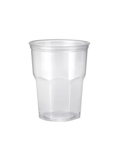 Bicchiere Cocktail Flexi PP Ottagonale Trasparente 340 cc 50 pz Bibo