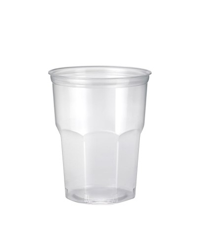 Bicchiere Cocktail Flexi PP Ottagonale Trasparente 390 cc 50 pz Bibo