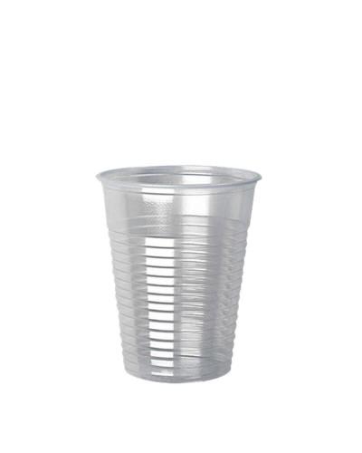 Bicchiere Plastica Trasparente in Polipropilene da 200 cc 100 pz