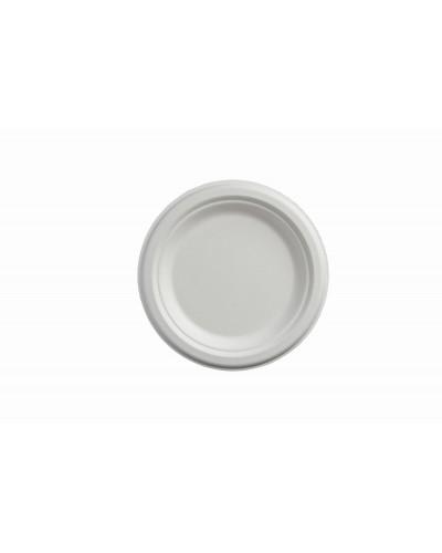 Fruit Plate Cellulose Pulp Ø 17.5 cm 50 pcs