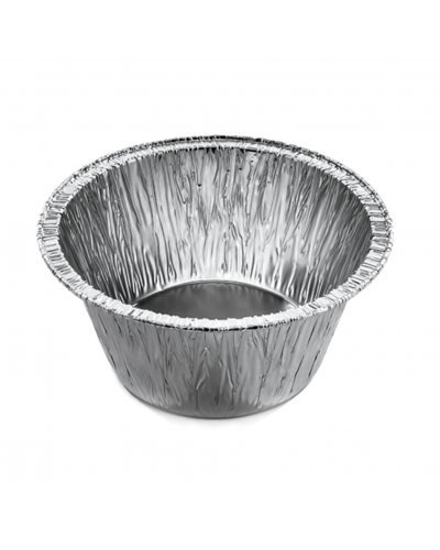 Stampo Alluminio Tondo per Plum Cake e Muffin C1G 100 pz Contital