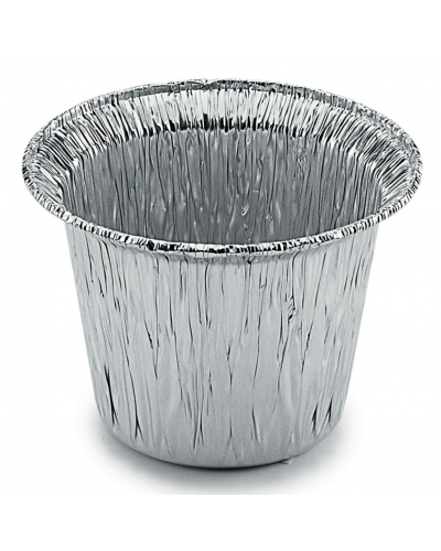 Stampo Alluminio Tondo Alto per PlumCake e Muffin C20G 100 pz Contital