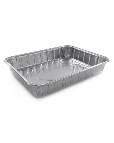Vaschetta Alluminio per Alimenti 4 Porzioni G 100 pz Contital