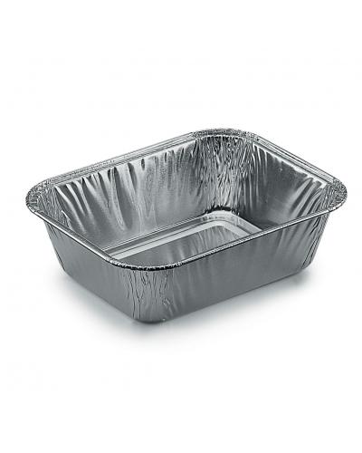 Vaschette Alluminio per Alimenti 1 Porzione G 100 pz Contital