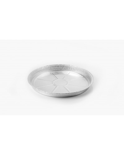 Stampo Alluminio Tondo per Crostata e Torta 26 cm 50 pz Icont
