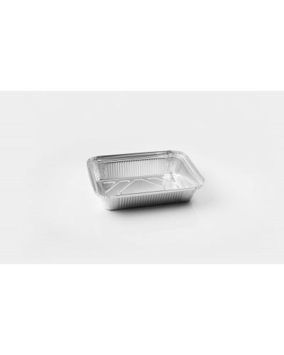 Vaschetta Alluminio Per Alimenti 3 Porzioni L 21x15x4 cm Icont