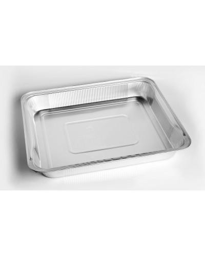 Vaschetta Alluminio Per Alimenti 12 Porzioni G Con Maniglie 40pz Icont