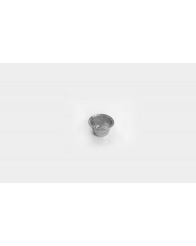 Stampo Alluminio Tondo per Plumcake e Panna Cotta T3G 100 pz Icont