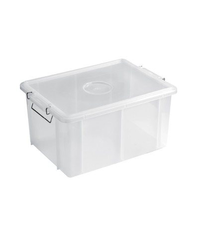 Cassetta Box Bianca per Alimenti 40x30x22 cm 20 lt Giganplast