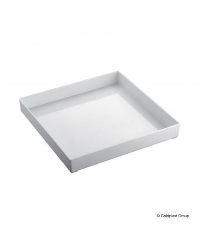 Vassoio Fashion Bianco 30x30 cm