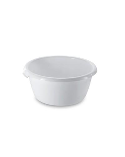 Tinozza Tonda Slip Bianca per Alimenti Ø 32 - 50 cm Giganplast