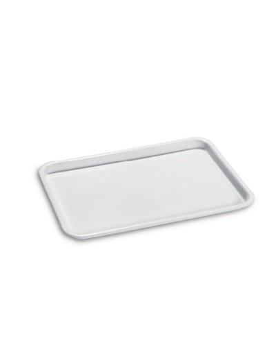 Vassoio Self Service Gilly Bianco Rettangolare 36x25x2 cm Giganplast