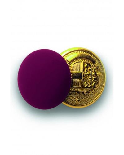 Bottone Gemello Oro-Bordeaux 4 pz per Giacca Cameriere Isacco