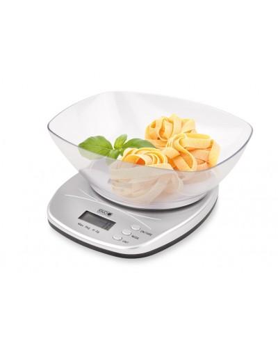 Bilancia Cucina Digitale Argento 5 kg Divisione 2 gr Eva